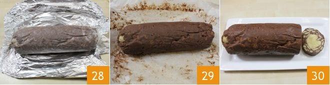 Salame ai due cioccolati