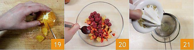 Bruschetta di frutta