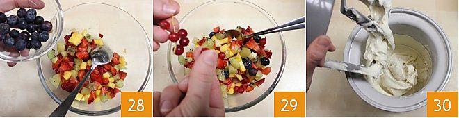 Zuccotto Pavesini tuttifrutti