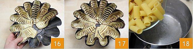 Timballo di maccheroni alla birra con ragù e melanzane
