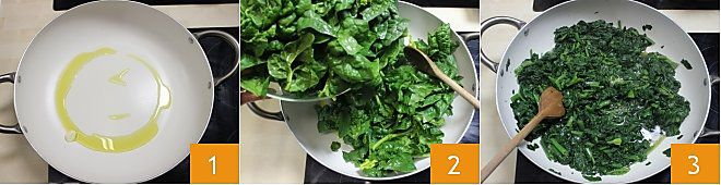 Involtini di pasta fillo con gamberi e spinaci