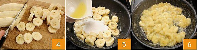 Cheesecake banane e cioccolato