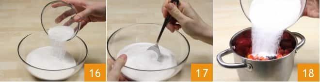 Confettura di fragole e albicocche alla vaniglia