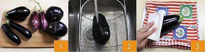 Come pulire e tagliare la melanzana