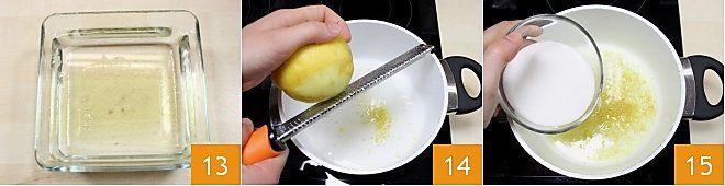 Rotolo con crema al limoncello