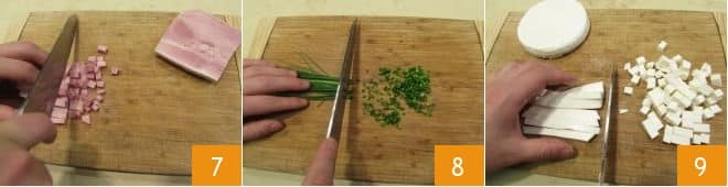 Insalata di riso con prosciutto e melone