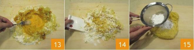 Gnocchi di zucca con salsa di taleggio