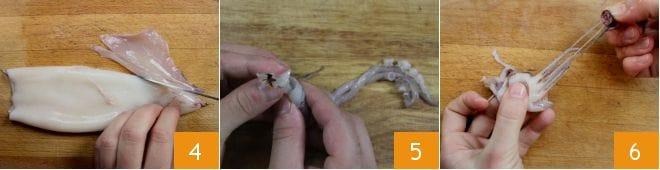 Calamari ripieni di scarola
