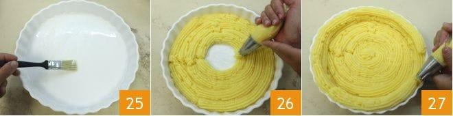 Crostata salata di polenta
