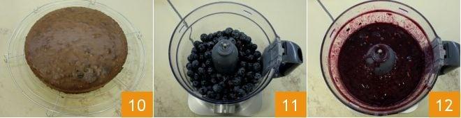 Zuccotto all'uva fragola