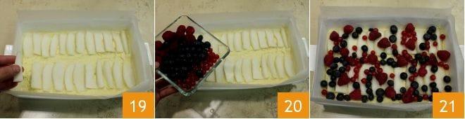 Crumb cake alle pere