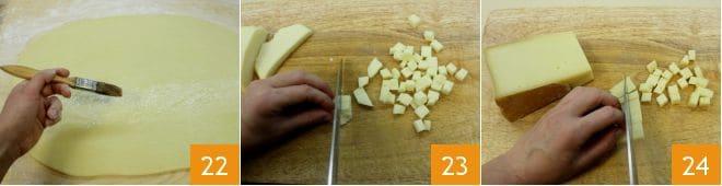 Ciambella salata ai formaggi e pancetta