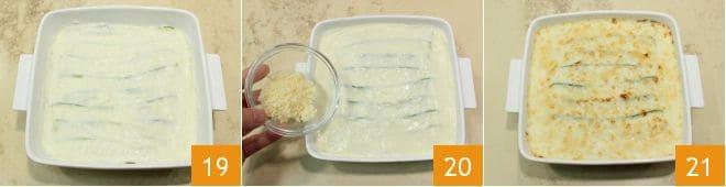 Parmigiana bianca di verdure e parmigiano