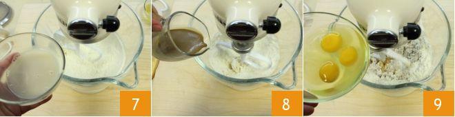 Torta spirale al caffè