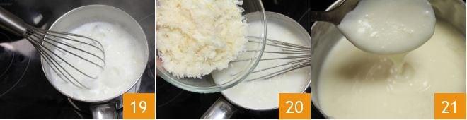 Lasagne con coriandoli di verdure