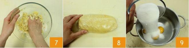 Pastiera alle mandorle e crema pasticcera