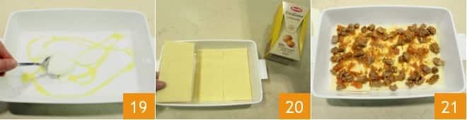 Lasagne con ragù di agnello