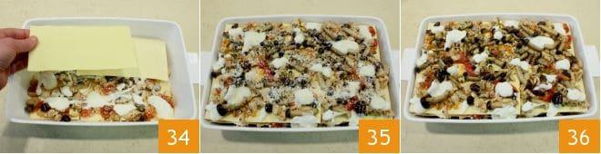 Lasagne con ragù di coniglio e funghi