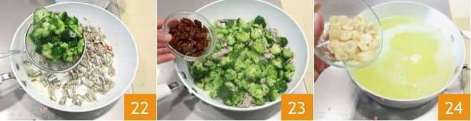 Orecchiette con broccoletti alici e pomodori secchi