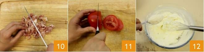 Torta pallone salata