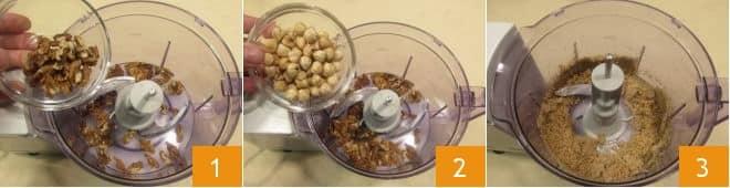 Biscotti con noci e nocciole