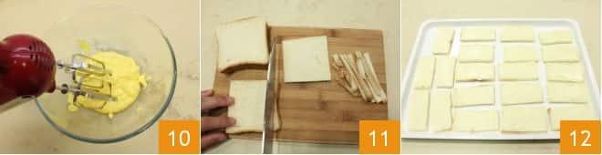 Tartine con gelatina