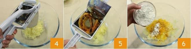 Gnocchi colorati con salsa allo yogurt
