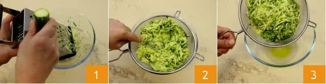 Cotoletta di zucchine e scamorza
