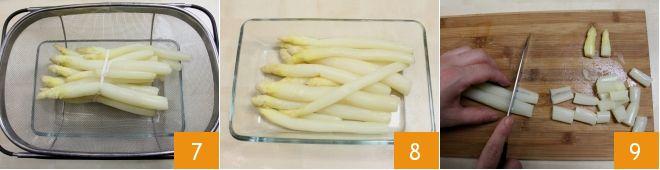 Reginette al pesto di asparagi bianchi