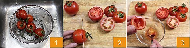 Pomodori  gratinati alla pugliese