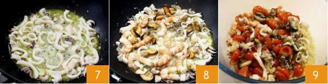 Couscous ai frutti di mare