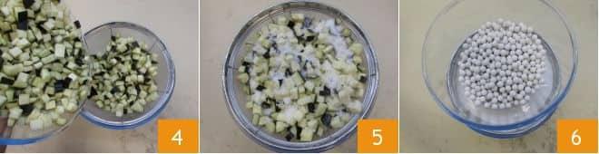 Zuccotto di melanzane