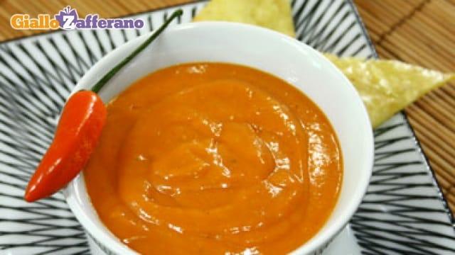 Salsa enchilada
