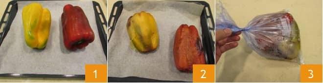 Insalata con tonno, mozzarella e peperoni