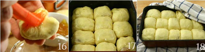 Buchteln (dolcetti di pasta lievitata)