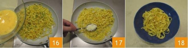Tagliatelle all'arancia
