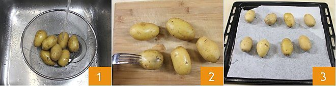 Barchette di patate con cheddar e pancetta