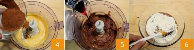 Torta al vino rosso