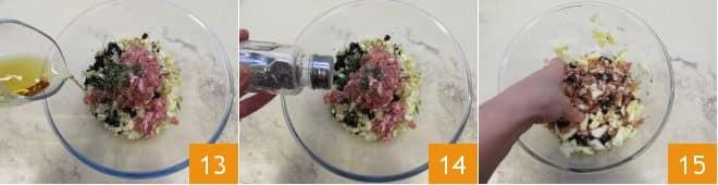 Galletto ripieno in salsa di frutta