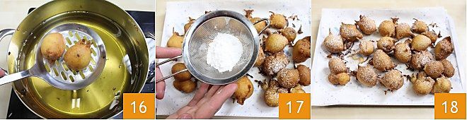 Tortelli con uvetta al profumo di arancia