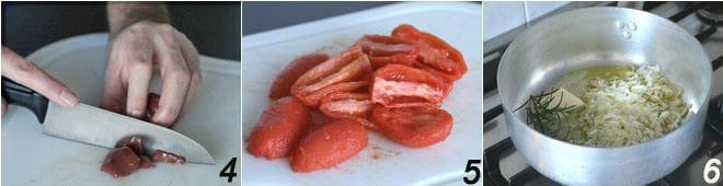 Tajarin con sugo di carne e fegatini