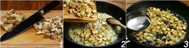 Sformatini di carciofi con salsa al Parmigiano