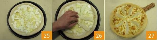 Pizza pere e brie
