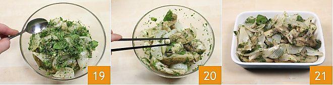 Melanzane e cipolle al forno