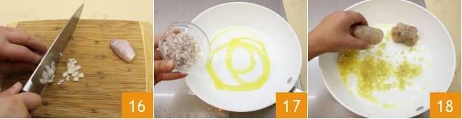 Involtini di pollo ai funghi con salsa alla senape