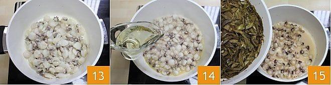 Seppioline con carciofi